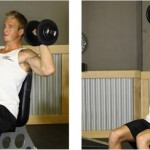 How to do the shoulder dumbell press