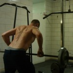 My approach to doing the bent-over barbell row
